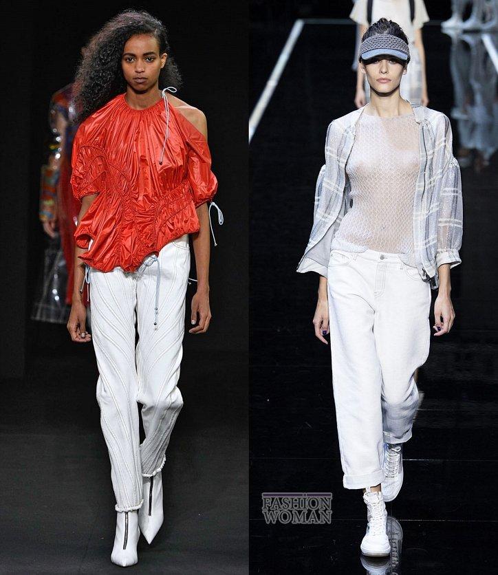 Модные джинсы весна-лето 2019 фото №30