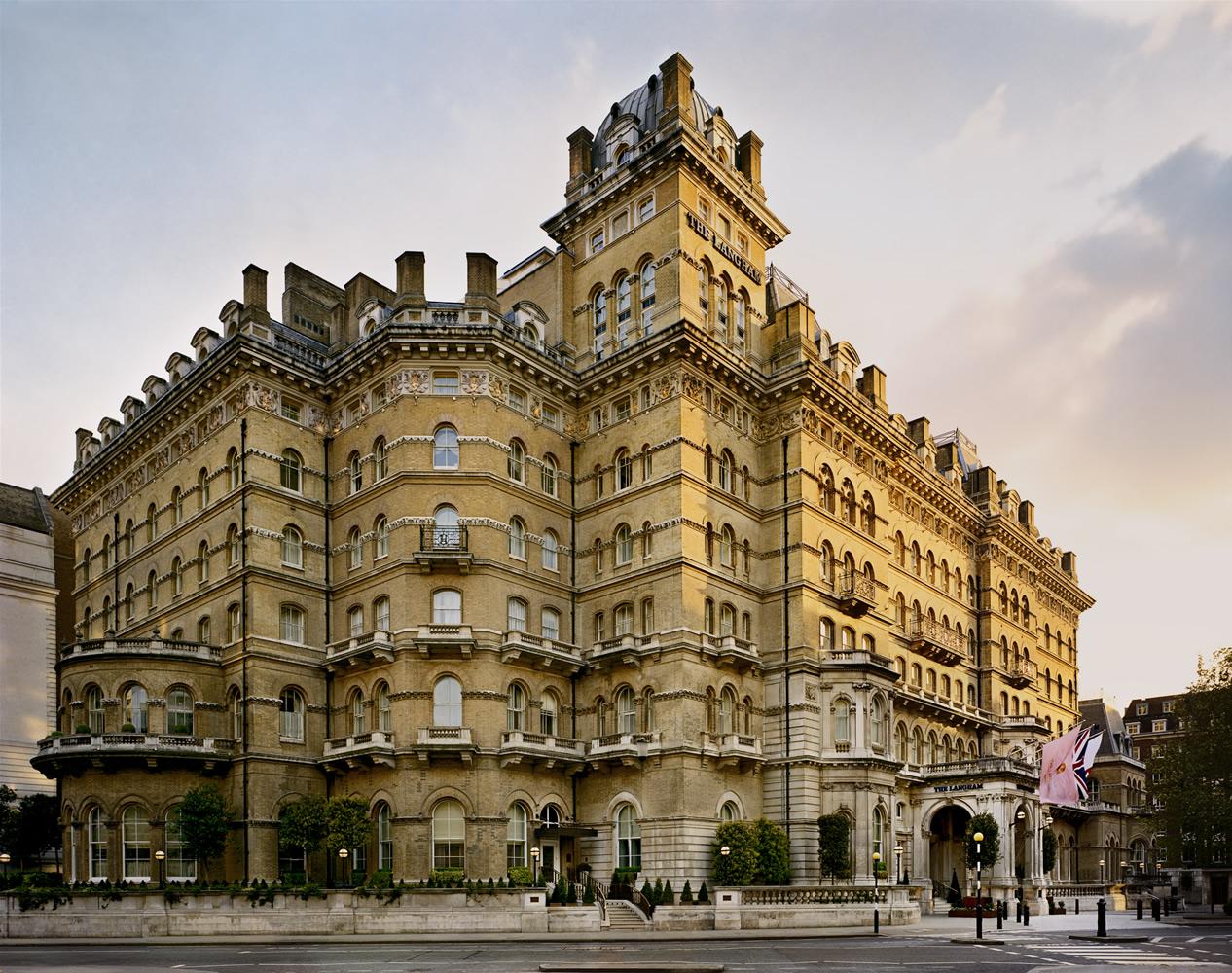 5. Отель Langham в Лондоне