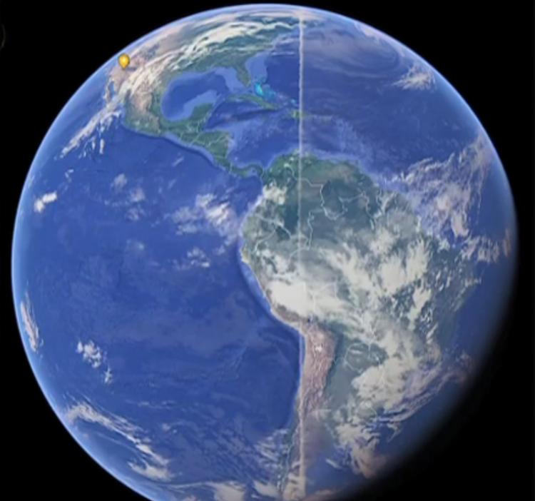 На снимках Google Earth найд…