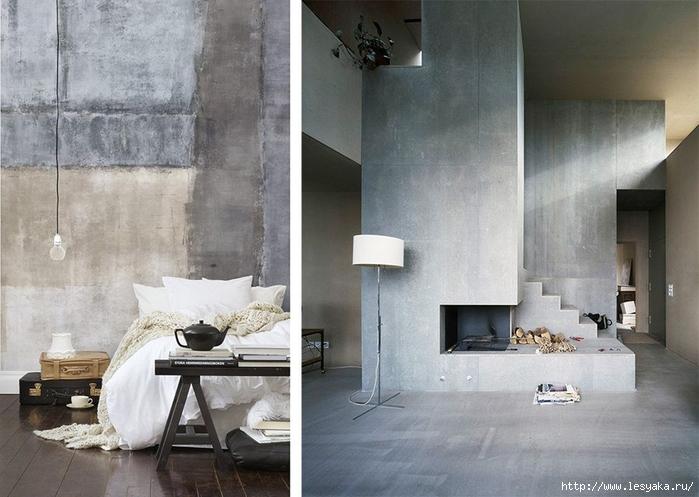 Ремонт своими руками: декор интерьера бетоном! очень умелые ручки