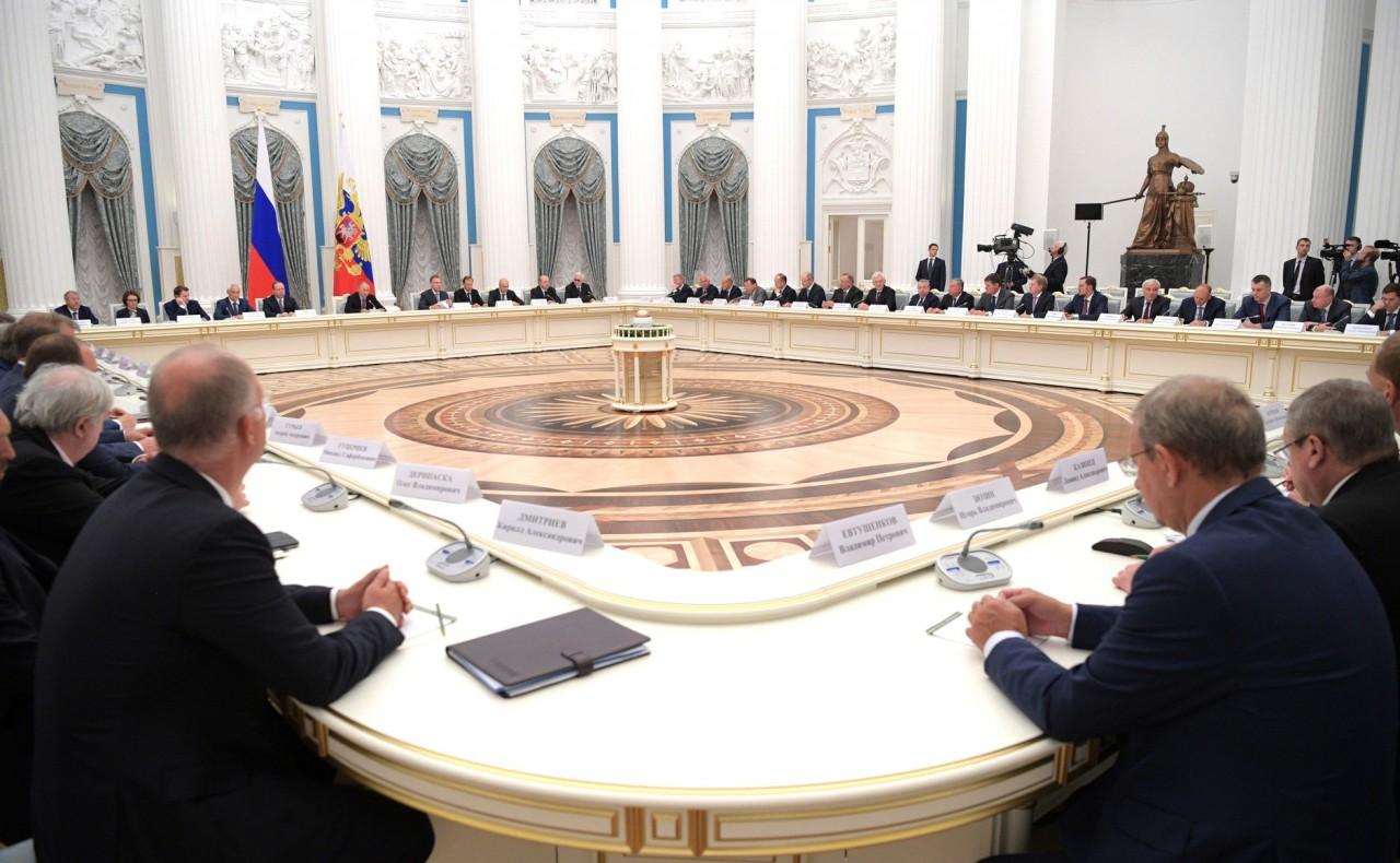 Встреча с представителями деловых кругов