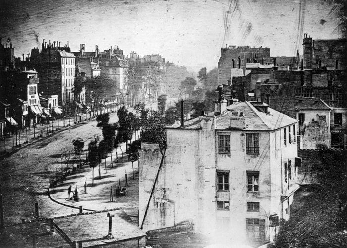 Самые первые фотографии в истории всемирная история