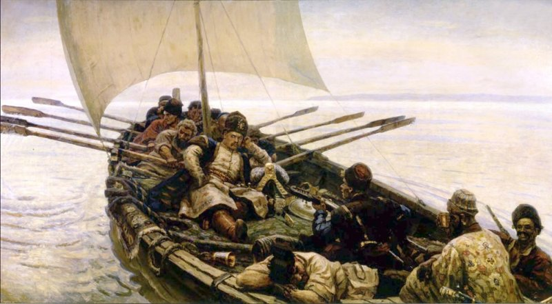 Картинки по запроÑу МорÑкие походы запорожцев