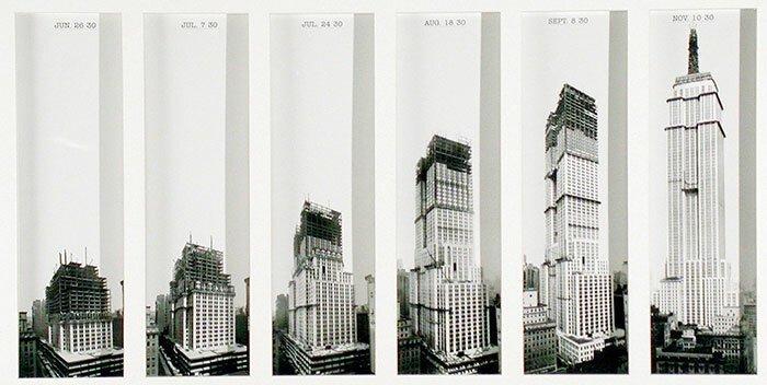 6. Эмпайер Стейт Билдинг. Нью-Йорк, США архитектура, достопримечательности, интересно, исторические фото, исторические фотографии, познавательно, сооружения, строительство