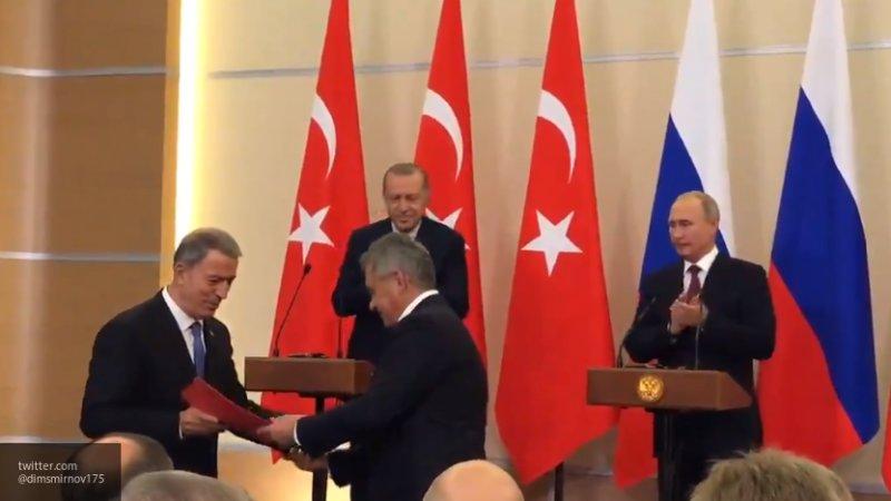 Эрдоган ждет скорой либерализации визового режима с Россией
