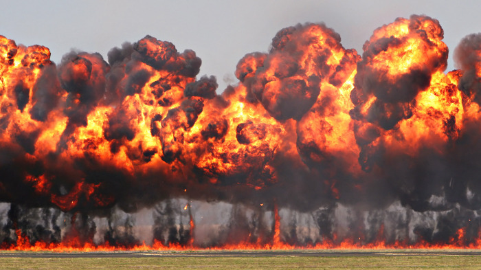 Напалм - страшная штука. /Фото: youtube.com.