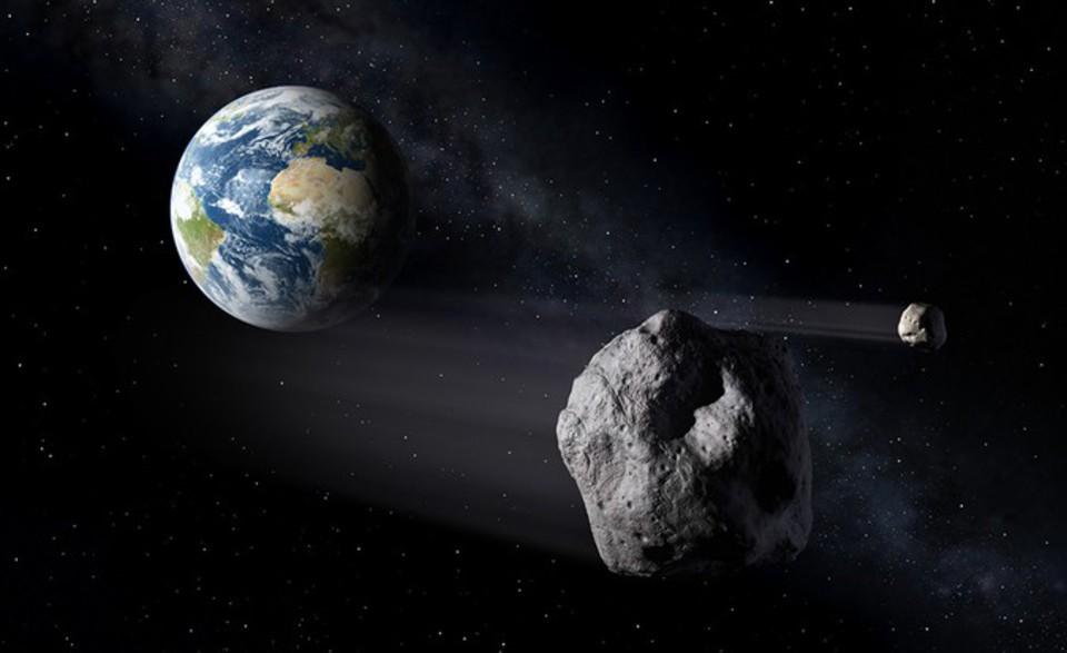 Огромный опасный астероид сб…