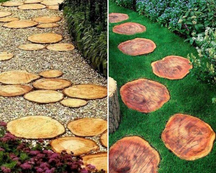 10 идей дизайна садовых дорожек, способных стать украшением участка декор,для дома и дачи