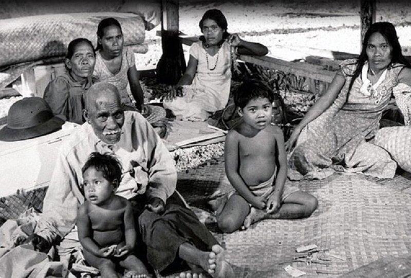Трагический визит атолл Бикини, племя бикинийцев, страницы истории, сша