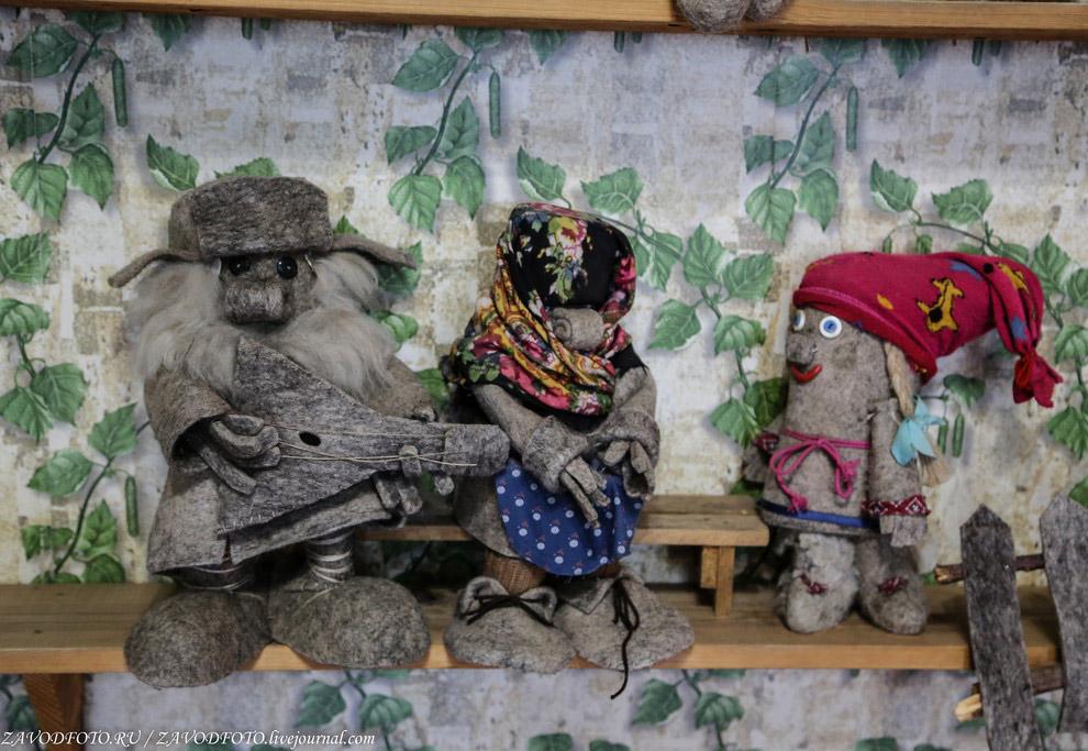 Экскурсия по музею валенок