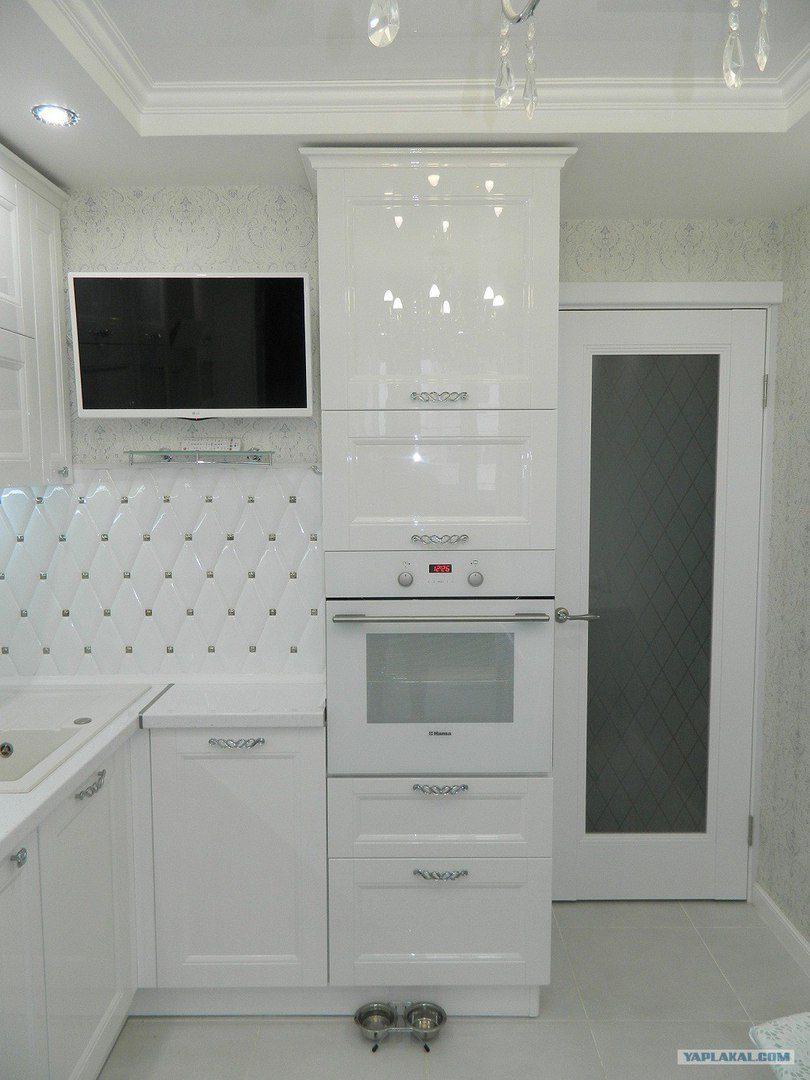 Великолепный ремонт кухни, сделанный своими руками интерьер