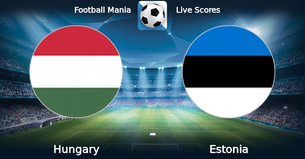 Венгрия — Эстония 15 ноября,…