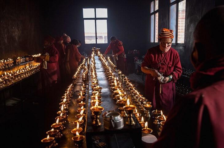 Жемчужина Тибета: Ларунг Гар — место, где Будда спустился с небес