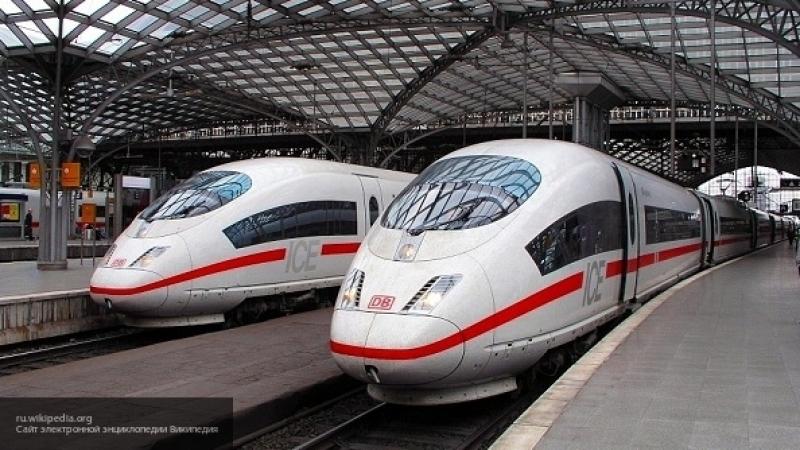 Пассажиров поезда в Германии пришлось эвакуировать из-за чашки