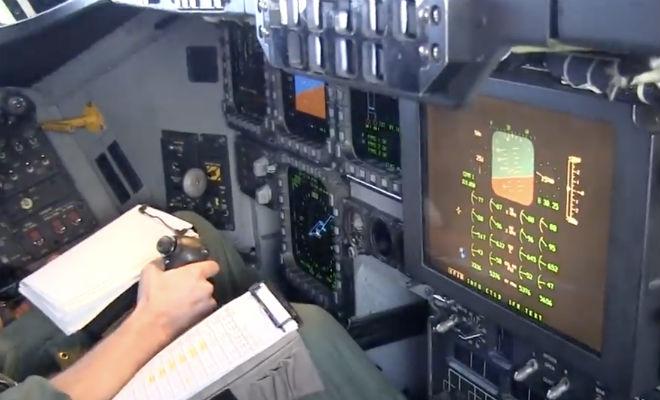 Кабина секретного американского B-2 впервые попала на камеру b-2 spirit,бомбардировщик,ВВС США,Пространство