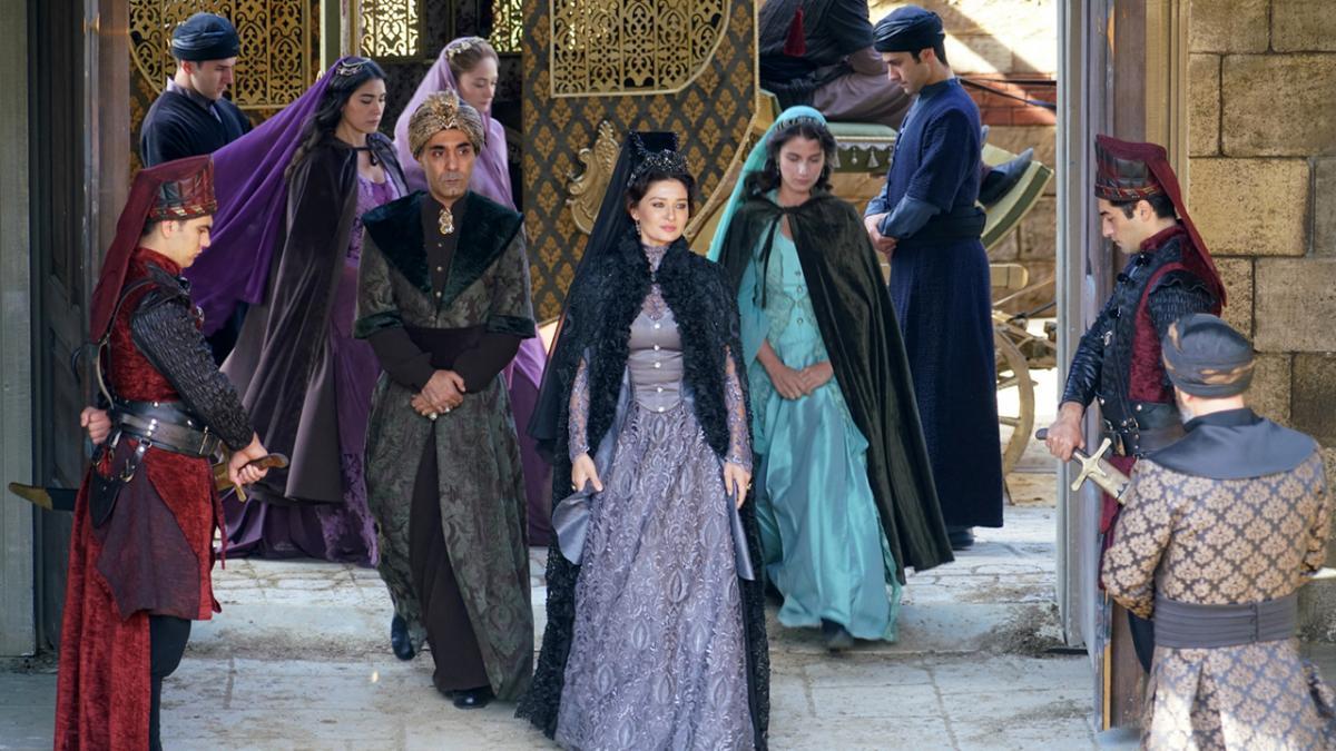 Четыре жены султана.