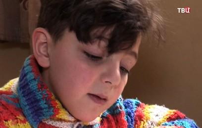 Российские военные медики помогут сирийскому мальчику с пороком сердца