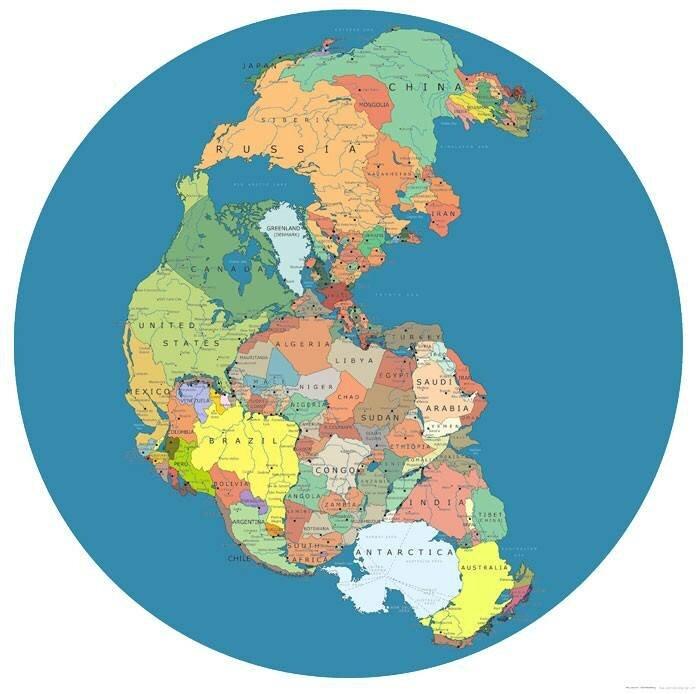 Как выглядела бы Земля сегодня, если бы доисторический суперконтинент не распался: видео Пангея, Миллионы, странах, вместо, субтропиках, оказалась, Сибирь, иначе, расположились, континенте, едином, части, суперконтинентаКстати, солнце, значительные, затрагивающей, войны, полноценной, развития, хватает