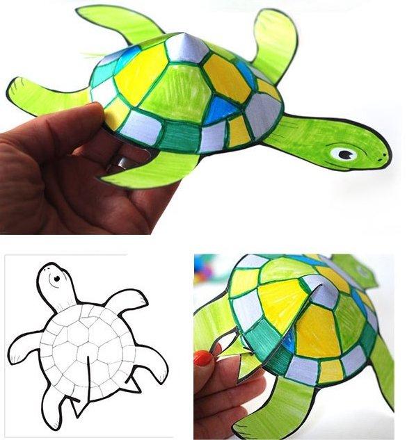 картинки и поделки черепах стекляруса, закрепленная