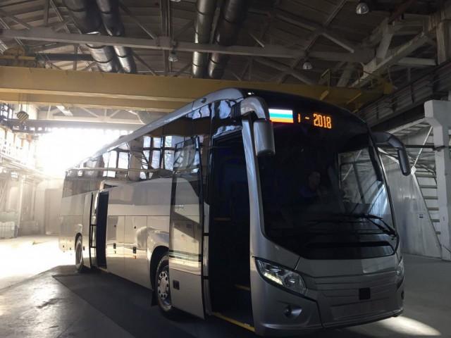 Группа ГАЗ показала новый автобус ЛиАЗ Cruise для ЧМ2018.