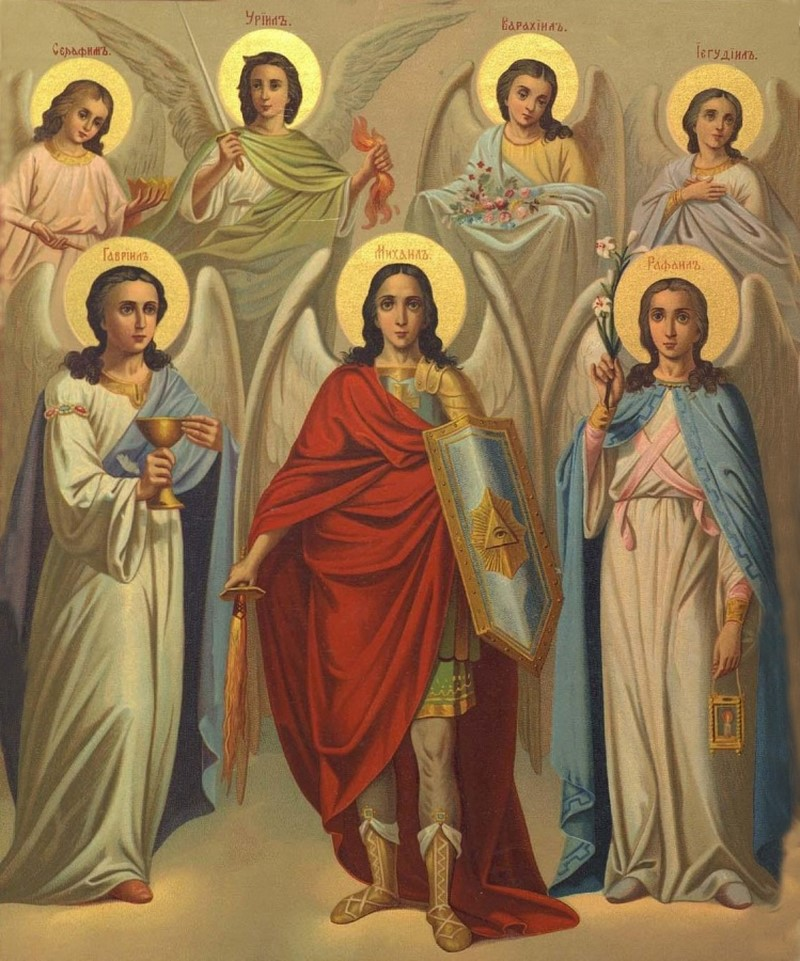 архангелы имена и молитвы