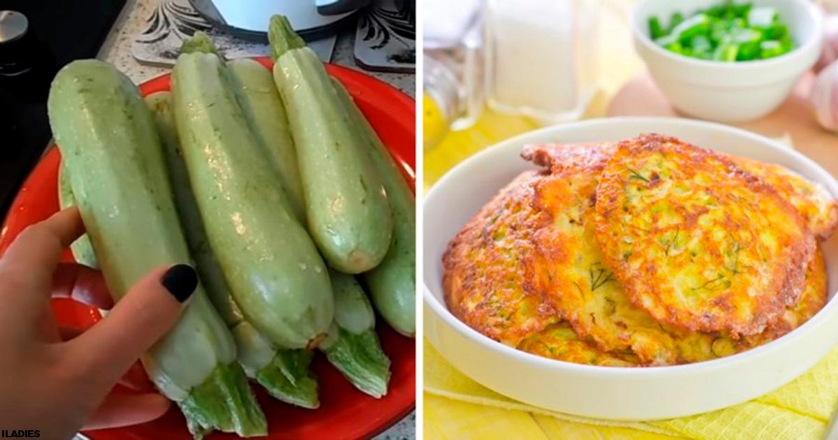 Готовим кабачки в панировочных сухарях с чесноком. На вкус даже лучше мяса!