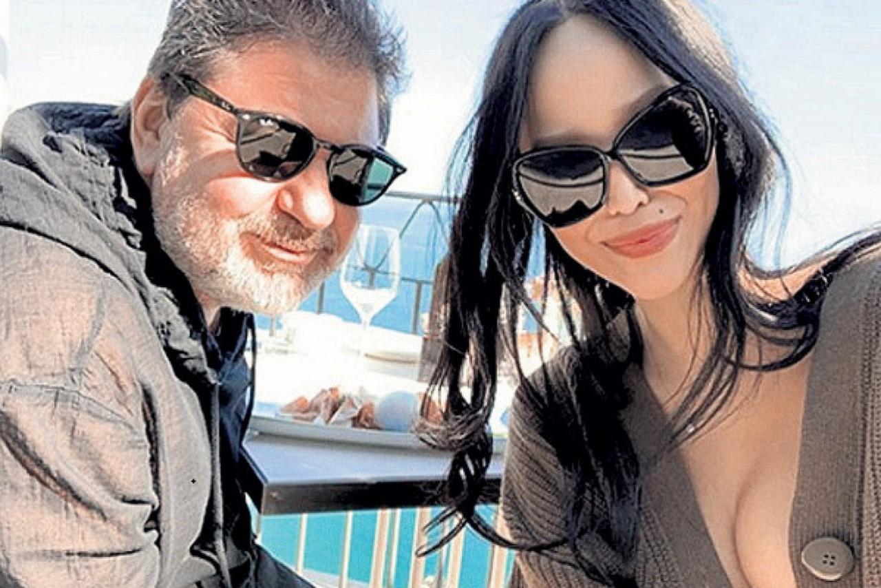 58-летний Цекало впервые вышел в свет с новой женой, которая моложе его на 30 лет