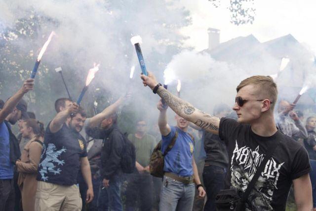 Националистическая С14 («Сич») избившая нациста Резниченко попала в базу террористов TRAC