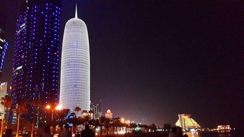Burj Qatar, Доха, Катар красота, небоскребы, самый-самый, строительство, удивительное, фантастика