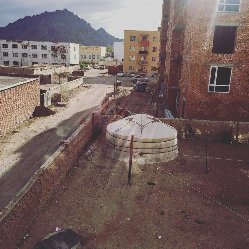 3. Где-то в Монголии Отель, вид из окна, вид из отеля, путешествия, туристы, фото