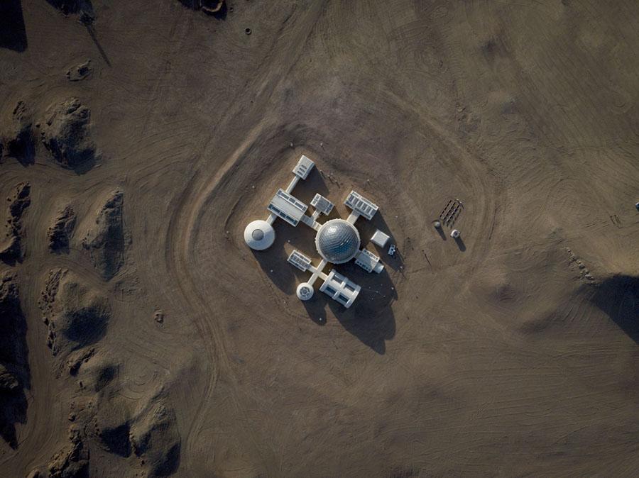 Китай построил марсианскую базу  в пустыне Гоби