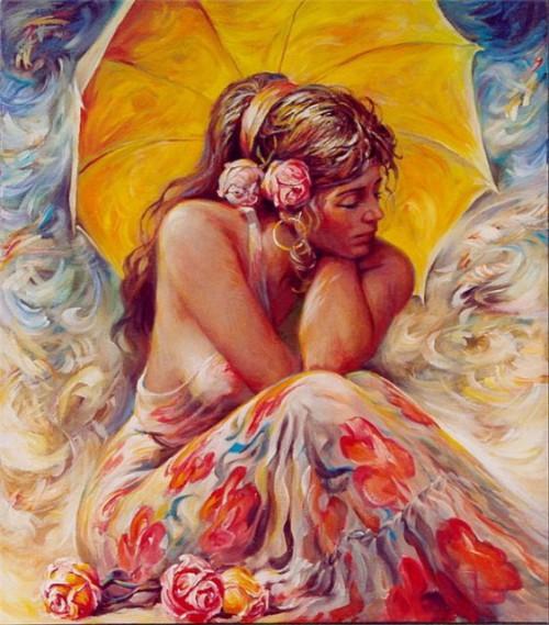 женский образ Аркадий Острицкий - 10
