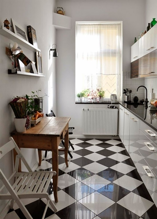 11 дизайн-подсказок по оформлению чёрно-белой кухни идеи для дома,интерьер и дизайн