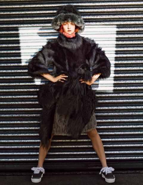 Коди Янг  в фотосессии Ричарда Бербриджа  для журнала i-D (зима 2013)