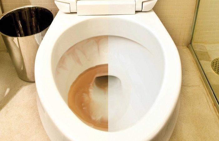 Волшебное средство для удаления ржавчины с любых поверхностей в ванной, которое легко сделать своими руками!