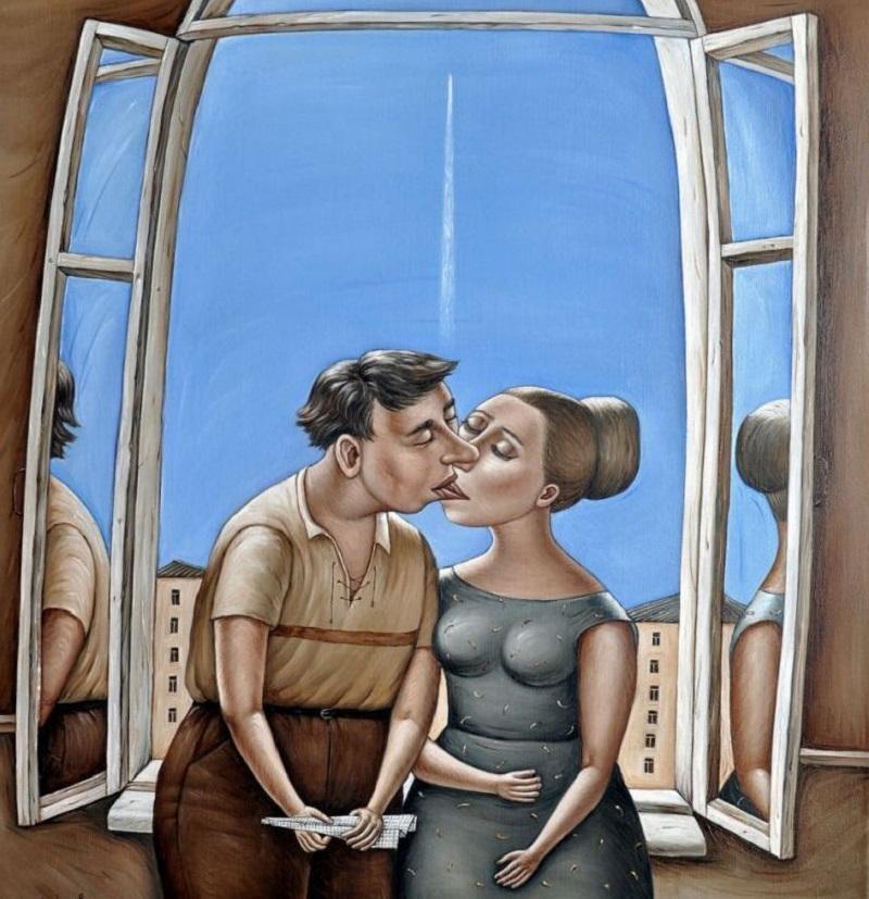 Прикольные картинки про общение мужчины и женщины