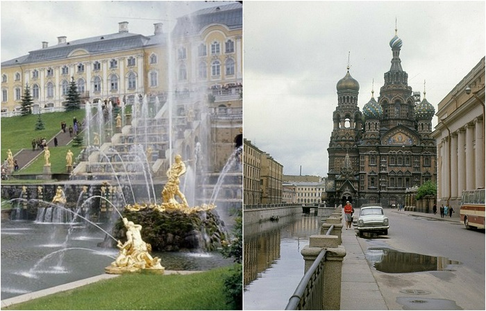 Ленинград 1960-х годов: 25 цветных фотографий, сделанных британским туристом