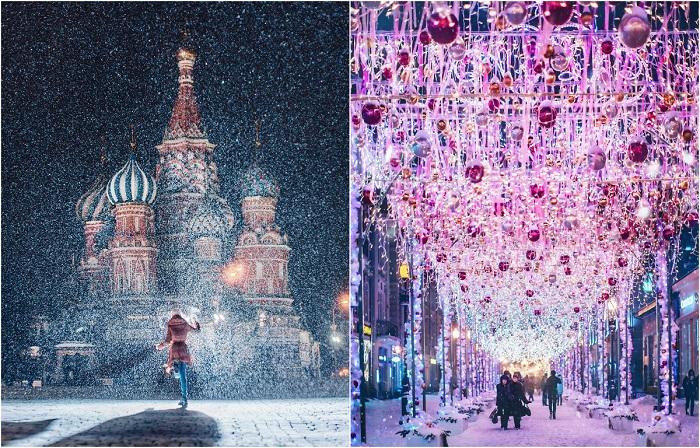25 волшебных фото зимней Мос…