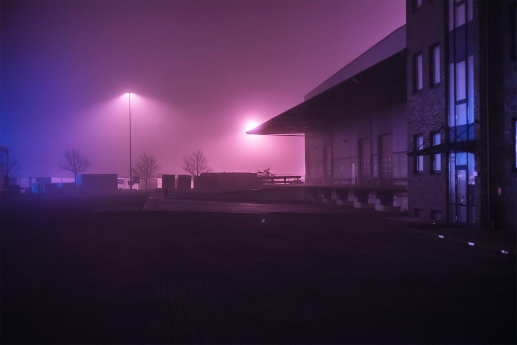 Раннее утро в Гамбурге на снимках Марка Бройера