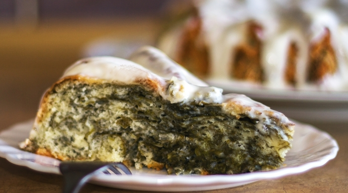 Быстрый пирог со щавелем