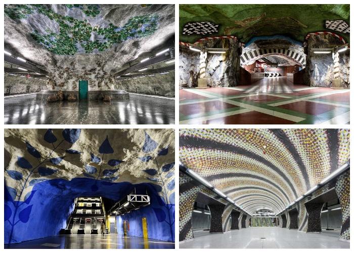 Незабываемые станции метрополитена метро
