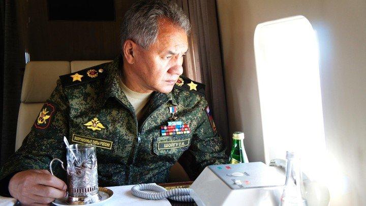 """Шойгу рассказал о """"невидимом"""" выводе войск США с территории Сирии"""