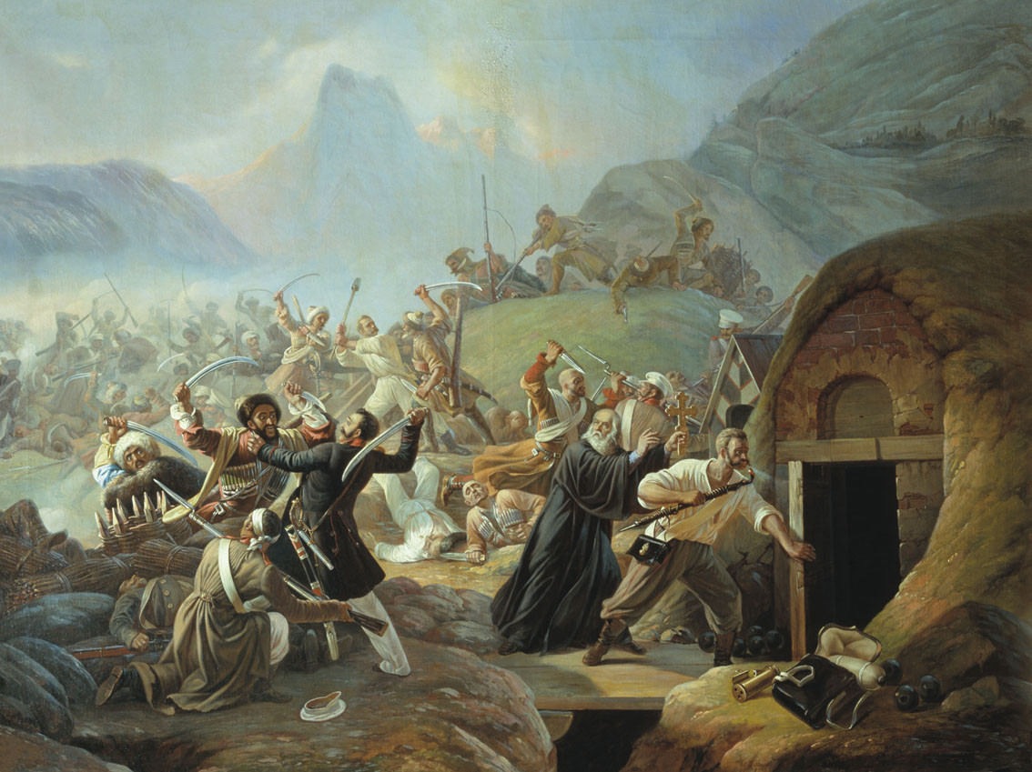 Подвиг русского рядового 77-го пехотного Тенгинского полка Архипа Осипова.  1840 год