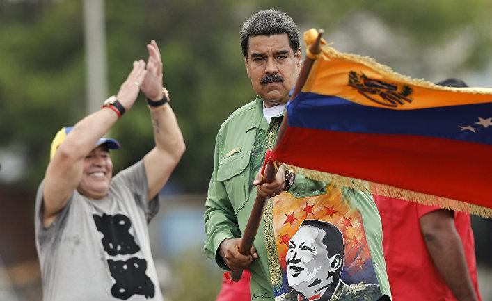 15 апреля 2019 — Dagens Nyheter (Швеция): как венесуэльскому диктатору удается сохранять власть (и почему он ее потеряет)