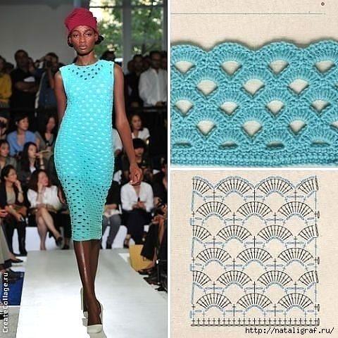 Вязанное-модное вдохновение,идеи,Одежда