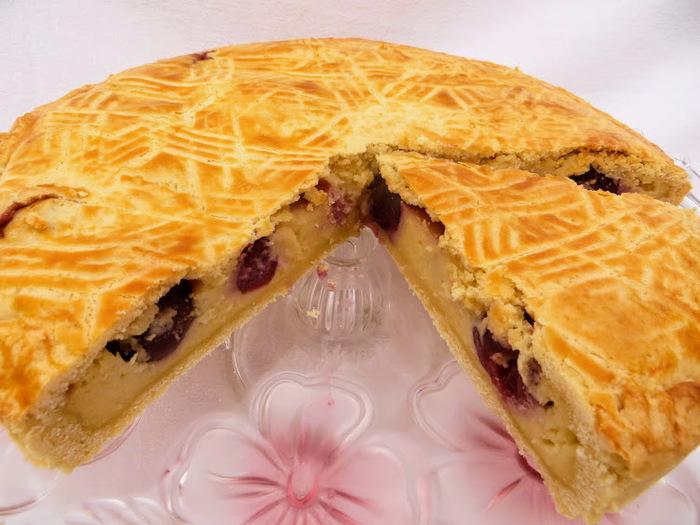 Баскский пирог с черешней (в…