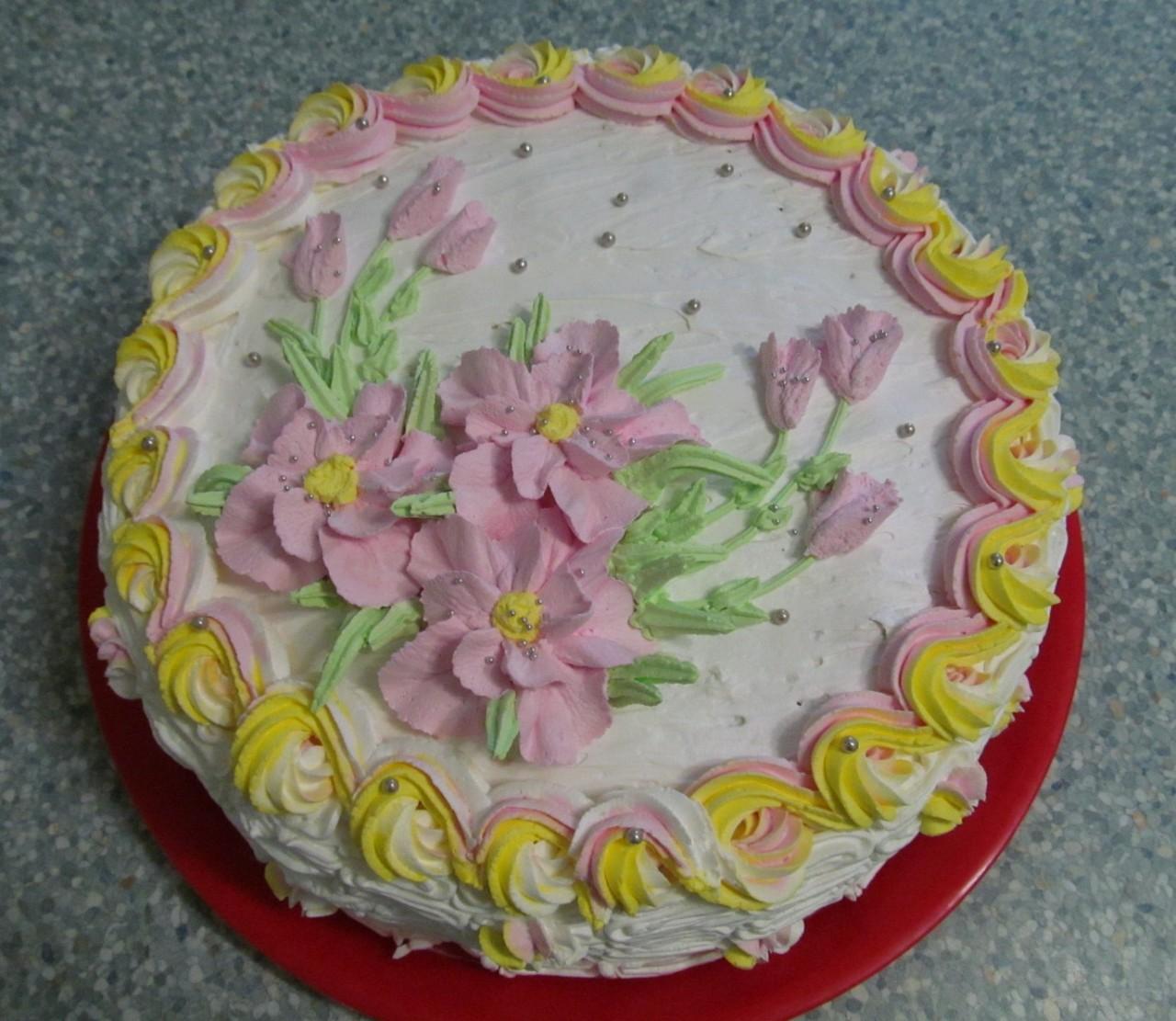 Торт на лимонаде