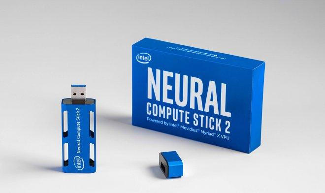 Intel представила Neural Compute Stick 2 – искусственный интеллект на флешке