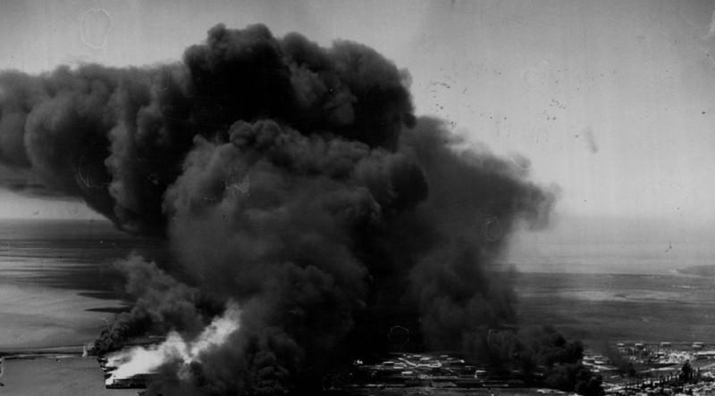 Начало катастрофы катастрофа, окурок, пожар