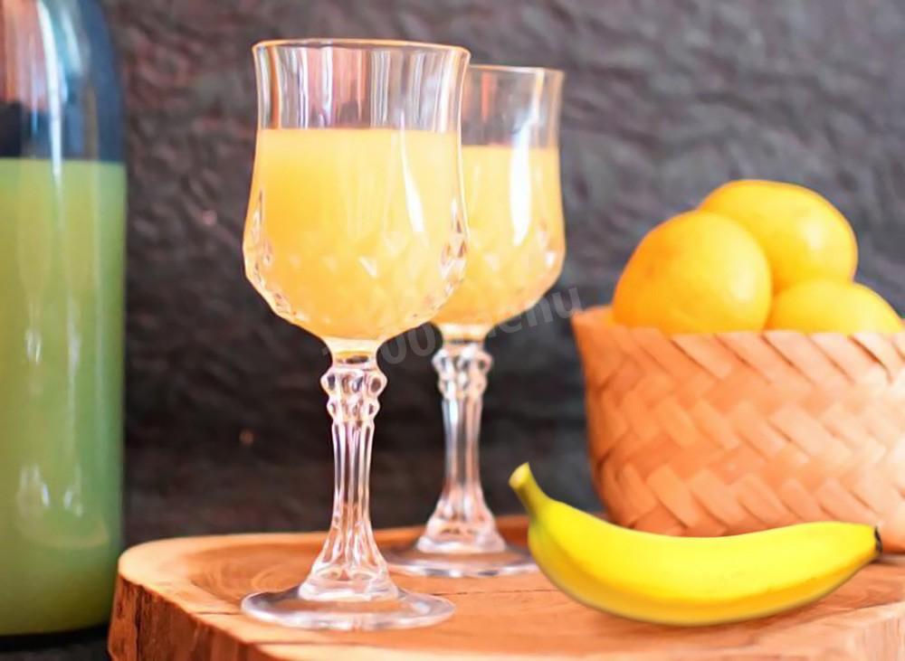 Спиртные напитки. Вино из апельсинов и бананов
